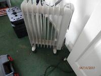Delongie oil heater