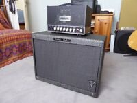 Frenzel Deluxe Plus 525 and Fender Deluxe George Benson 1 x 12 speaker cabinet