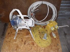 110v sprayer with cables g.w.o.