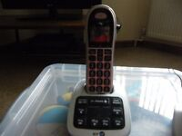 Big button cordless phone with answerphone