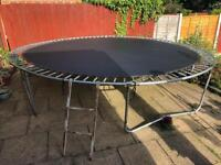 14 ft Trampoline - large for adults and kids