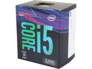 NEUF Intel Core i5 8400 Coffee Lake 6-Core
