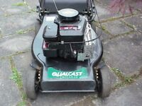 qualcast trojan 18 petrol lawnmower