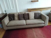Barker & Stonehouse sofa 4 seater