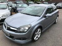 2009/09 VAUXHALL ASTRA 1.6i 16V SXI SPORTS HATCH 3DR SILVER,SPORTY LOOKS,ECONOMICAL,DRIVES WELL