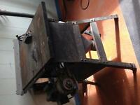 Table saw and Drafting light table