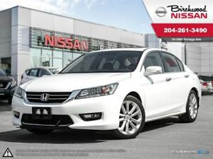 2015 Honda Accord Touring Navigation , Sunroof , Back UP CAM