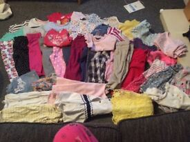 Large 12-18 months girls clothes