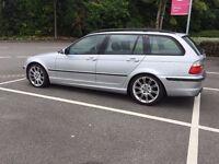 "Genuine BMW MV2 18"" staggered alloys/alloy wheels. 3, 1, z series, etc. E46 E36 E81 E87 etc."