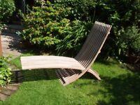 Designer Lounger for Garden / Deck