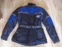 Ladies Monanta Frank Thomas Gore-Tex Motorbike Jacket.