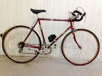 Excellent vintage road bike serviced Ideal for Inner city circles