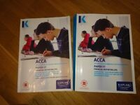 ACCA F7 KAPLAN COMPLETE TEXT & EXAM KIT £35