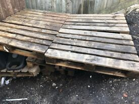 Wooden Pallets x 9