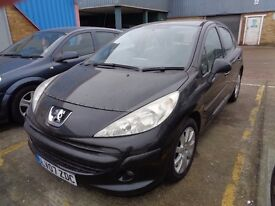 Peugeot 207 1.6 REDUCED PRICE SemiAuto LOW MILEAGE
