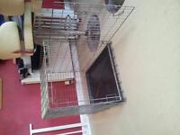 Meduim / large fold up dog crate