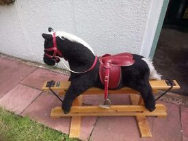 Rocking horse been looked after In the loft now needs a new home