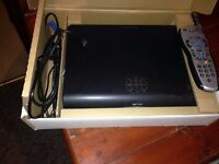 Sky+ HD Box with remote and cables