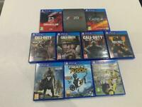 PS4 Games for Sale - See Description For Prices