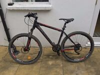 Cube Analogue Disc 2011. 18 inch frame size, hard-tail mountain bike + Accessories