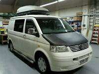 Vw T5 campervan / motor home 4 berth pop top