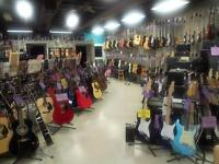 Guitars from $89.99 New and in stock.