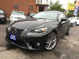 2014 Lexus IS 250 Leather,Sunroof,Navi,BlindSpot*Camera&LexusWar