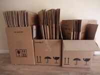 21 Extra Strong Moving Boxes Large and Small