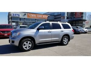 2012 Toyota Sequoia SR5 V8 - LEATHER | REAR V/CAM | CERTIFIED!