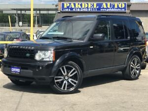 2011 Land Rover LR4 LUXURY PKG*7 PASS*NAVI*360'CAMERA*DVD*PANORA
