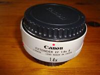 CANON EF II 1.4X EXTENDER