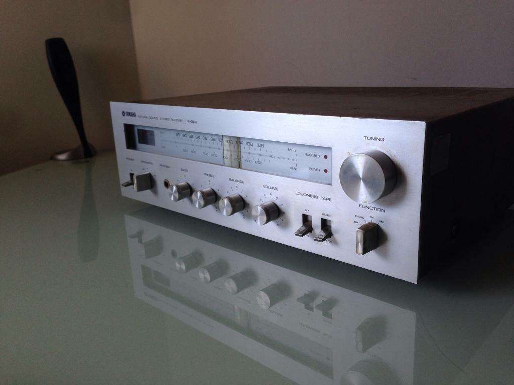 Yamaha Cr200 Vintage Stereo Amplifier Receiver In Stratford