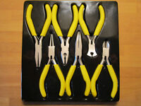6 Piece Small Plier Set for Electronics