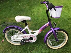Girls 20inch Bike - with bell & basket -Very good condition!