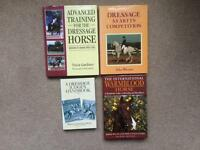 A collection of Four Equestrian Books