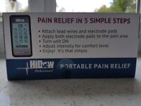 Hidow Professional TENS Portable Pain Relief Stimulaltion Brand New Never Used