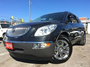 2010 Buick Enclave CXL  / 7 PASS /SUNROOF/ LEATHER / CHROME WHEE