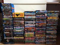 Large DVD and Blu Ray Collection