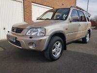 2001 Y Honda CRV 2.0l ES Executive * Petrol*FULL MOT* FSH * 5 Door * Excellent Condition * Not Rav4