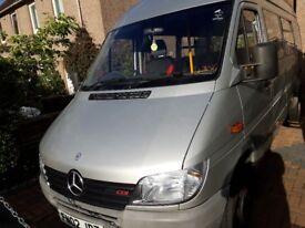 for sale mercedes sprinter minibus