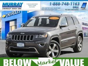 2016 Jeep Grand Cherokee Limited  **sunroof! heated seats!**