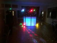 Dj service mobile, kids disco parties, foo fighters tribute, covers band all available