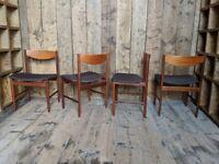Kofod Larsen G Plan Chairs In Rare Original Mint Vintage Condn Danish gplanera