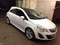 Vauxhall Corsa Diesel 1.3 low millage mint condition auto-reverse one touch facility