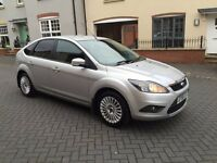 FORD FOCUS 1.6 TITANIUM 5dr 2008! LONG MOT! TOP SPEC! 2 KEYS! DRIVES GREAT!