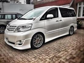 Toyota alphard Fresh import in uk registered ready to go