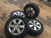 Mitsubishi Shogun alloy wheels