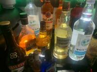 Bottle stand lights