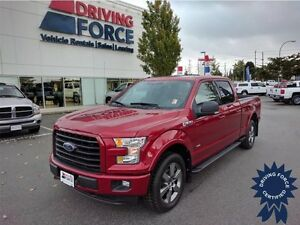 2016 Ford F-150 XLT FX4 - SuperCrew, Running Boards, 15,930 KMs