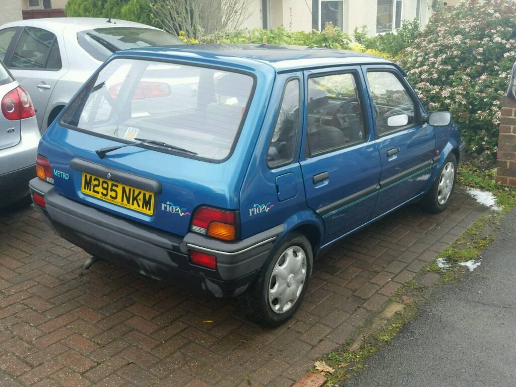 1994 rover metro rio 5 door hatch ONLY 22000 MILES project future classic cheap car